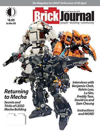Get Your Lego Mech On In Brickjournal 48 Shipping Today