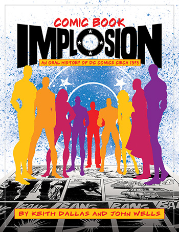 Shhh! COMIC BOOK IMPLOSION ships next week direct from