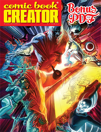 FREE Comic Book Creator #1 BONUS PDF - Click Image to Close