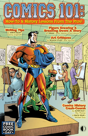 Comics 101: How-To & History Lessons From The Pros PDF - Click Image to Close