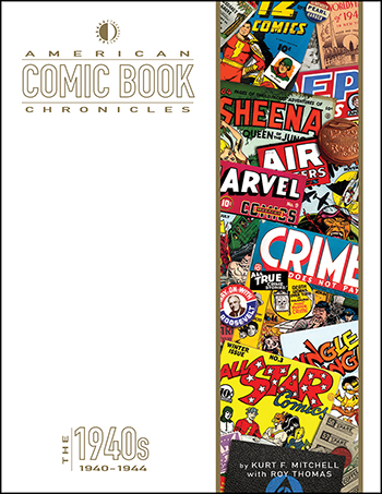 American Comic Book Chronicles: 1940-1944 - Click Image to Close