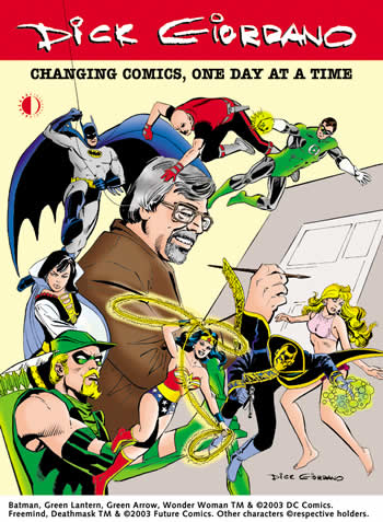 Dick Giordano: Changing Comics One Day At A Time - Click Image to Close