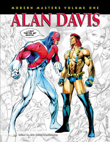 Modern Masters Volume 01: Alan Davis - Click Image to Close
