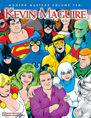 Modern Masters Volume 10: Kevin Maguire - Click Image to Close