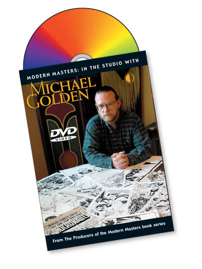 Modern Masters: In The Studio With Michael Golden DVD - Click Image to Close