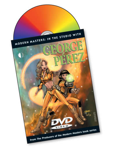 SIGNED Modern Masters: In The Studio With George Perez DVD - Click Image to Close
