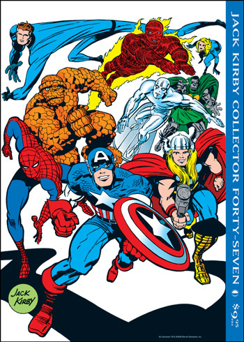 Jack Kirby Collector 47 - Click Image to Close