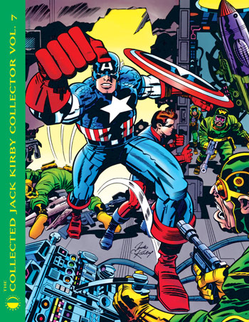 Collected Jack Kirby Collector - Volume 7 - Click Image to Close