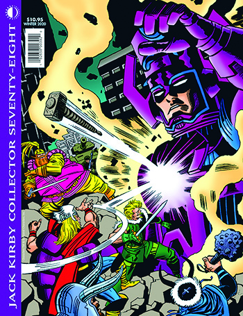 Jack Kirby Collector 78 (Standard Edition) - Click Image to Close