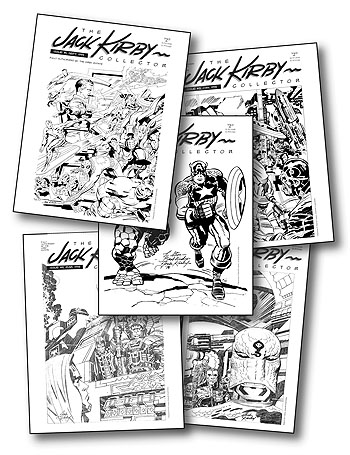 Jack Kirby Collector 01-05 - Click Image to Close