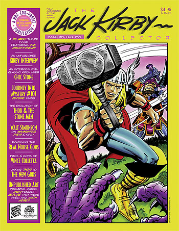 Jack Kirby Collector 14 - Click Image to Close