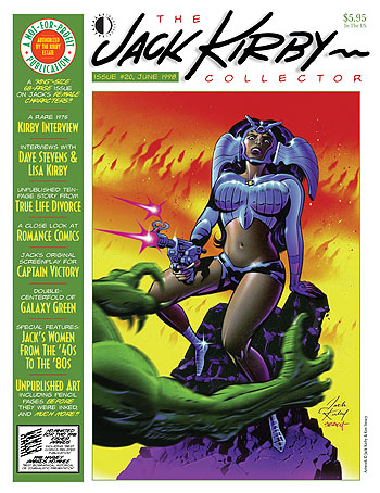 Jack Kirby Collector 20 - Click Image to Close