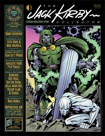 Jack Kirby Collector 22 - Click Image to Close
