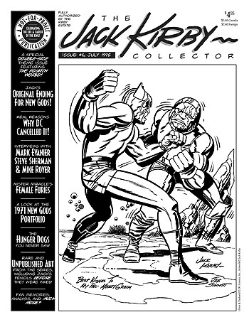 Jack Kirby Collector 06 - Click Image to Close