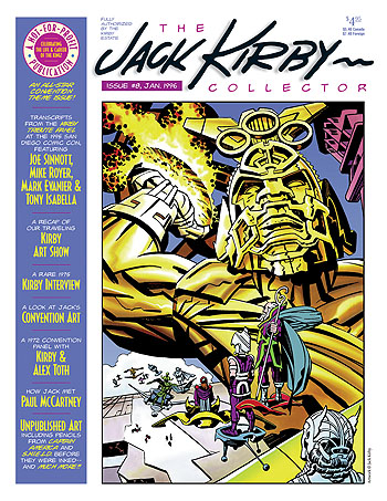 Jack Kirby Collector 08 - Click Image to Close
