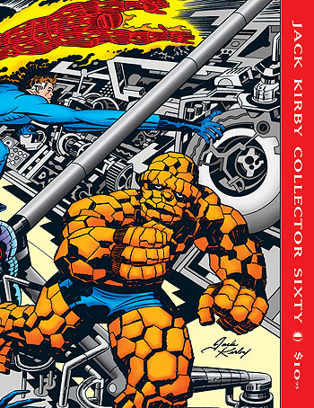 Jack Kirby Collector 60 - Click Image to Close