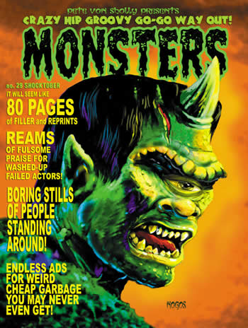 Crazy Hip Groovy Go-Go Way-Out Monsters 29 - Click Image to Close